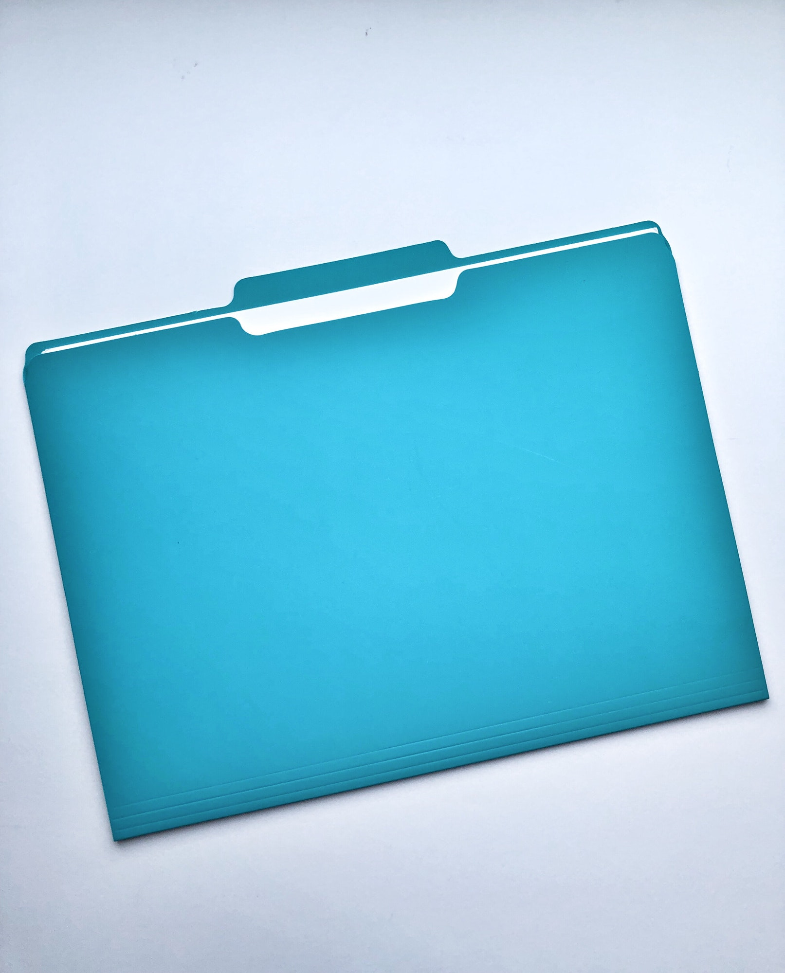 blue file folder
